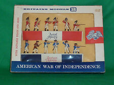 Britains Herald soldier 60mm Eyes Right swoppet AWI british & american box 7385