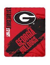 "Georgia Bulldogs 50"" x 60"" Painted Fleece Throw Blanket by Northwest"