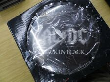 AC/DC BACK IN BLACK COLLECTORS WALL CLOCK