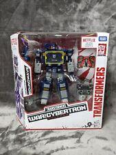 Transformers Netflix Soundwave War For Cybertron Voyager Class