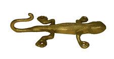 Lizard Antique Finish Brass Handmade Key Clothes Towel Wall Mounted Hanger Hook