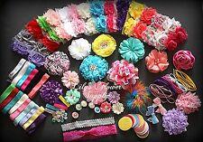 Baby Shower Headband Kit - Jumbo DIY Hair-Bow & Headband Kit - Party Colors