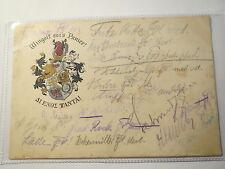 Giessen - Verbindung Wingolf - 1919 - Wappen / Studentika