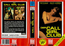 "VHS - ""call girl Club (Beverly Hills señora)"" (1986) Faye Dunaway-Donna Dixon"