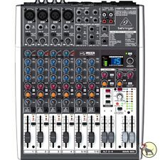 Behringer Xenyx X1204USB 12-Input 2/2-Bus Mixer USB Audio Interface +Picks