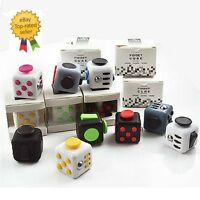 Fun Fiddle 6 Sided Cube Adult Anxiety Stress Relief Cube Toys Xmas Gift Cubes UK