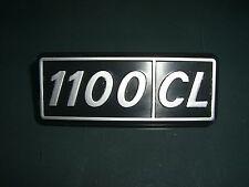 Emblem Badge Fiat 127 1100 CL  Plastik ca. 95 x 35 mm