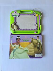 Magnetic Drawing Pad Princess FROG with Sketch guide book attached- HARDLY USED