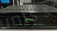 McINTOSH MC 7100 - STEREO POWER AMPLIFIER - USED