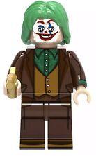 DC Comics Joker Minifigura Construcción Juguete LEGO compatible Reino Unido Stock