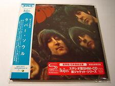 """THE BEATLES """"Rubber Soul"""" Japan mini LP SHM CD   1st Press"""
