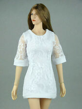 1/6 Phicen, Hot Toys, Kumik, Cy Girl, ZC, TTL, NT - Female White Lace Dress