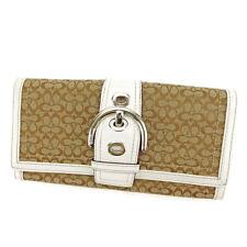 Auth COACH purse Wallet Signature Men Allowed S522
