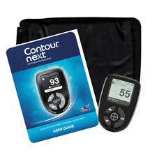 Bayer Contour Next Meter with Case  - Diabetic Monitor (Open Box)  Free BONUS