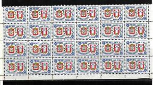 (59450) PERU CLASSIC STAMPS, UNUSED OG, EUCHARISTIC CONGRESS LARGE PIECE