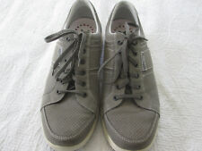 MEPHISTO RUNOFF Leather Shock Absorbant Deck Shoes Size EUR 10 US 10 1/2