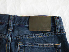 Youth Boys Lee Premium Select Denim Dark Blue Jeans Size 16 R