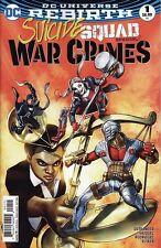 SUICIDE SQUAD SPECIAL: WAR CRIMES #1 DC Comics Universe Rebirth Harley Quinn NEW