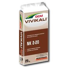 Dcm Vivikali ® Engrais 25 kg Engrais potassiques Légumes Engrais automne pelouse...