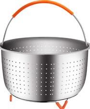 Steamer Basket,suit for Steaming Vegetables Eggs, for 3 or 5 Qt Pressure Cooker