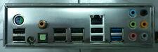 1pc  NEW I/O shield MSI 990FXA-GD65 io NEU P67S-C43 P67A-S40 backplate