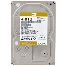 Western Digital Gold 4tb WD 4002 fyyz 7200u/min 128mb SATA III 3,5 pulgadas