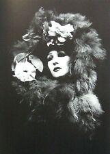 """Irina Ionesco montado Impresión de fotografía 16 X 12"""" 1975 II12 Erotica lesbiana Gótico"""