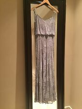 ARMANI COLLECTION Sequined Spaghetti Strap Gown Dress Sz 6 NWT $2225