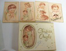 Vintage Christmas Cards -  Coronation ANGELS Unused