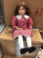 Waltershäuser Puppen Manufaktur Vera Scholz Vinyl Puppe 65 cm. Top Zustand
