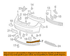 GM OEM Front Bumper-Lower Bracket Right 15248110