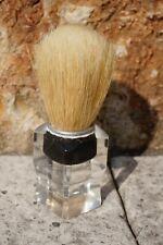 Vtg.Art Deco Lucite Barber's Atelier Shop Shaving Mug Brush Badger &Natural Hair