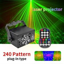 240 Pattern Laser Stage Dj Lighting Rgb Led Usb Projector Light Party Disco Lamp