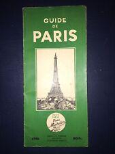 Rare ! Première édition Guide Michelin Paris 1946