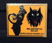 2016 WOLVERHAMPTON SPEEDWAY E L WINNERS GOLD BADGE     ( EXCELLENT CONDITION )