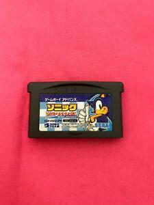Sonic Game Boy Advance GBA JAPAN SEGA