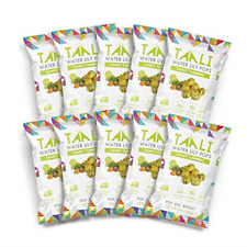Taali Tangy Turmeric Water Lily Pops 10-Pack - Taste with Benefits   Roasted    