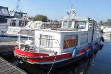 Hausboot, Wohnbarkasse 10x3m, 130 PS Diesel, Kü, WC, 5 SP+Zubehör
