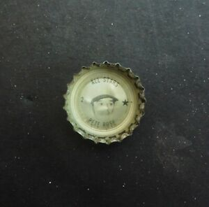 🌟1967 FRESCA Coke Bottle Cap CINCINNATI REDS Pete Rose All-Star #2