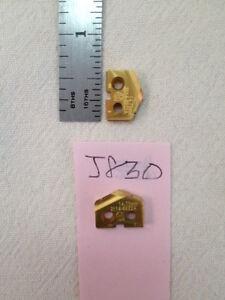 2 NEW 14.75 MM ALLIED SPADE DRILL INSERT BIT.  2114-6922A AMEC S  {J830}