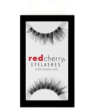 Red Cherry DEMI WISPY #DW wispies schwarz Echthaar-Wimpern false strip lash