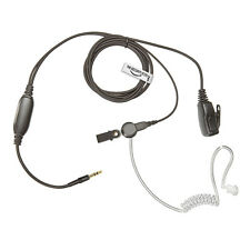 Earpiece for IPHONE 5, 6  (Covert Acoustic Tube Headset with PTT Microphone)