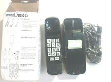 Black Corded Trimline Phone Model:GE5303