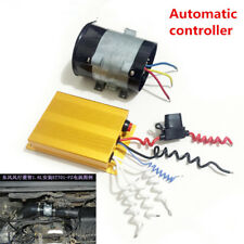 Maximum 300W 12V Car Electric Turbine Power Turbo Charger Bold Lines +Controller