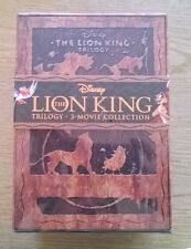The Lion King Trilogy (Blu-ray/DVD, 2011, 8-Disc Set, Diamond Edition; 3D) NEW