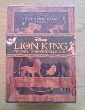 Disney Lion King Trilogy (Blu-ray/DVD, 2011, 8-Disc Set, Diamond Edition; 3D)