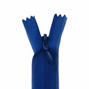 10Pcs Invisible 3# Zipper 25-60cm Back Cushion Skirt Hidden Sewing Craft