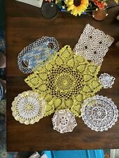 New listing Lot 20 Hand-Crocheted Handmade Doilies