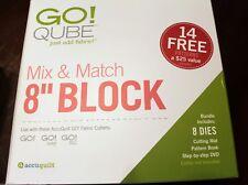 "Accuquilt Go (Go!) Qube Mix & Match 8"""