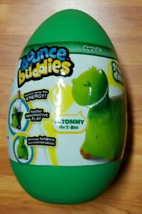 Bounce Buddies TOMMY the T-Rex *NIP* Green Dino Ages 3+ Develop Balance